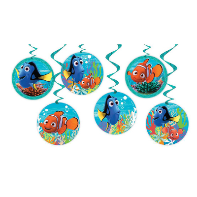 Finding Nemo Hanging Decoration 6PK