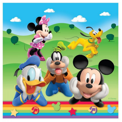 Mickey Mouse Clubhouse Lunch Napkins 16PK