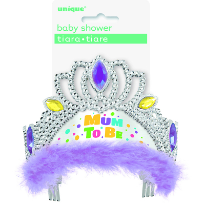 Mum To Be Tiara - Lavender