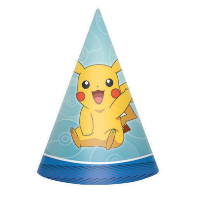 Pokemon Core Cone Hat Paper 8PK
