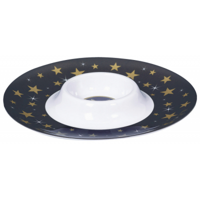 Hollywood Chip & Dip Melamine Tray