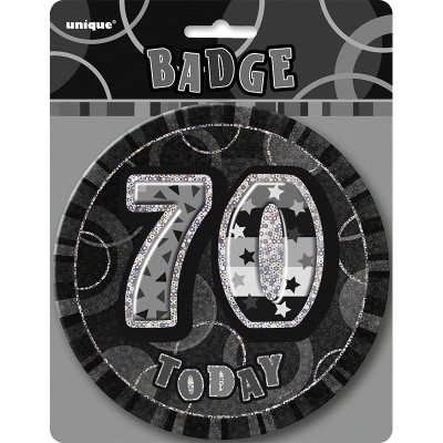 Glitz Birthday Black Badge 70th