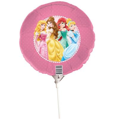Disney Princess Foil Balloon On Stick