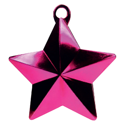 Balloon Weight Star Magenta