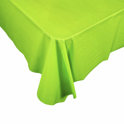 Five Star Rectangle Tablecover 2.7m Lime Green