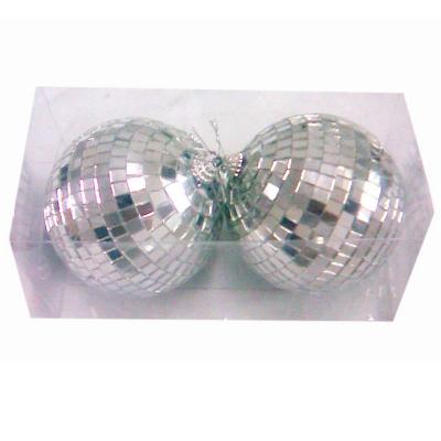 Disco Mirror Balls 10cm 2PK
