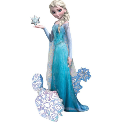 Airwalker Frozen Elsa the Snow Queen Inflated with Helium