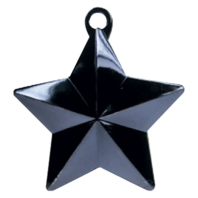 Balloon Weight Star Black