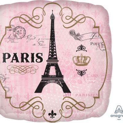 45cm Standard Foil Balloon Day In Paris