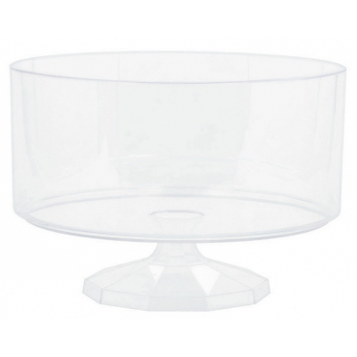 Trifle Container Plastic Clear Small