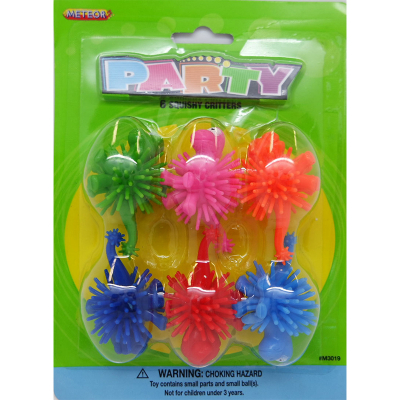 Squishy Critters 6PK