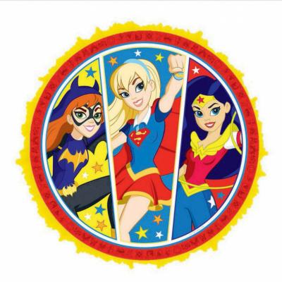 DC Superhero Girls Expandable Pull String Pinata