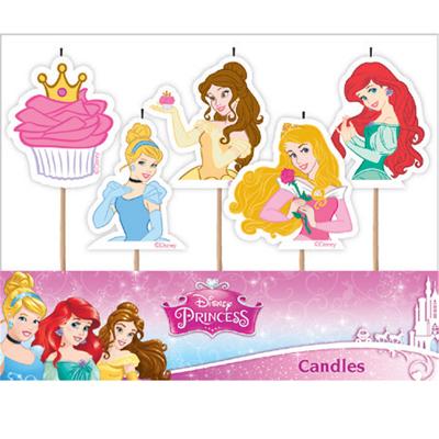 Disney Princess Candles 5PK
