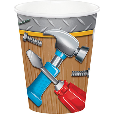 Handyman Tools Cups Paper 266ml 8PK