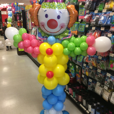 Balloon Column Clown Small