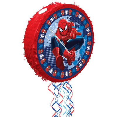 Spiderman Pop-Out Pull String Pinata