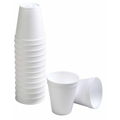 Foam Cups 237ml 25PK