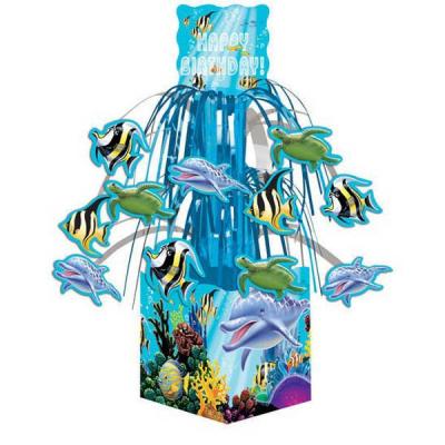 Ocean Party Centrepiece Mini Cascade with Base