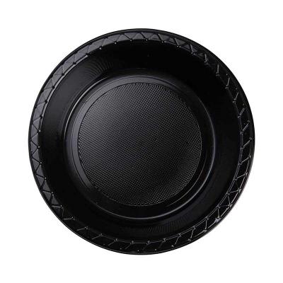 Five Star Round Dessert Bowl 17cm Black 20PK