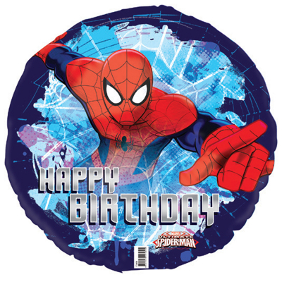 Spiderman 45cm Foil Balloon