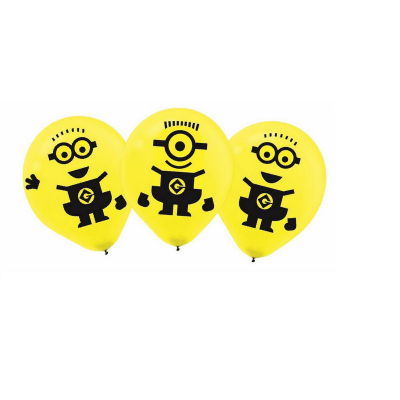 Despicable Me 30cm Latex Balloons 6PK