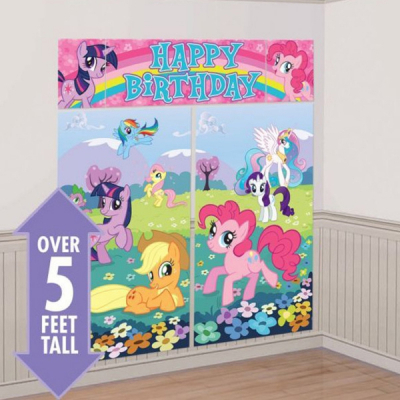 My Little Pony Friendship Scene Setter 5PK