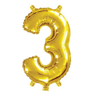 35cm 14 Inch Gold Foil Balloon 3