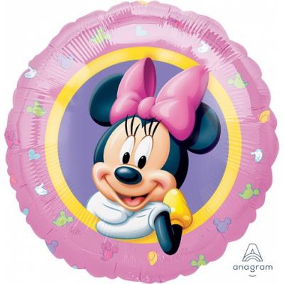 Minnie Mouse Portrait 45cm Standard Foil Balloon