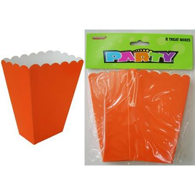 Treat Boxes Orange 8PK
