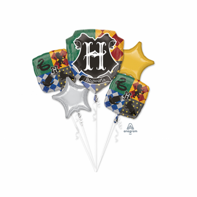 Harry Potter Foil Balloon Bouquet 5PK
