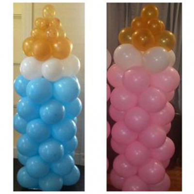 Balloon Column Baby Bottle