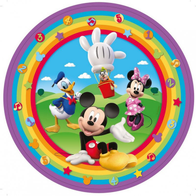 Mickey Mouse Clubhouse 23cm Round Plates 8PK