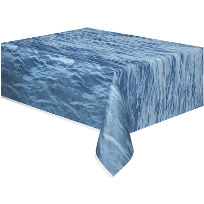 Ocean Wave Plastic Tablecover