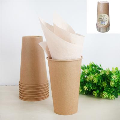 Kraft Paper Cups 500ml 8PK