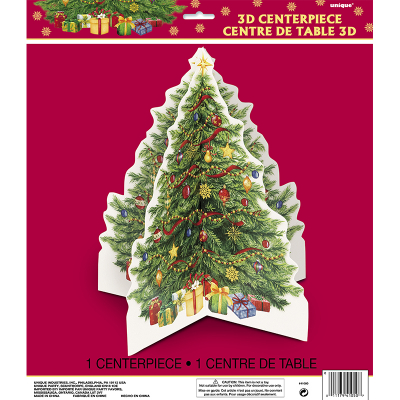 3D Centrepiece Starry Christmas Tree