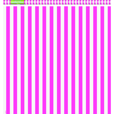 Stripe Hot Pink Gift Wrap Roll