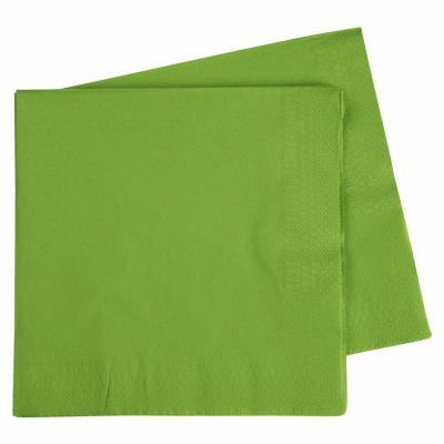 Five Star Dinner Napkin 40cm Lime Green 40PK