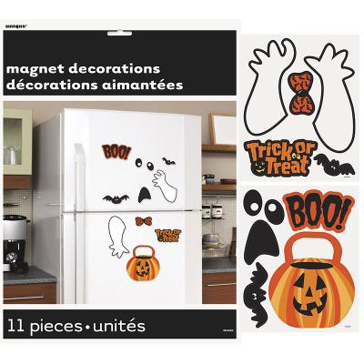 Assorted Halloween Magnet Fridge 11PK