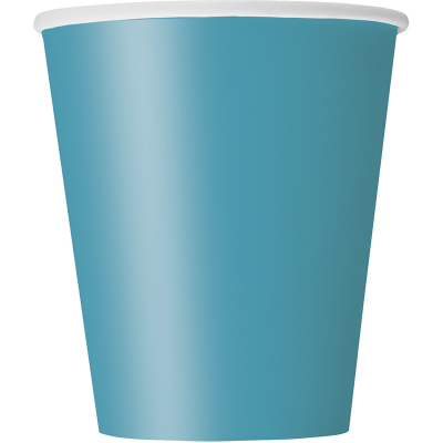 Paper Cups - Teal 8PK