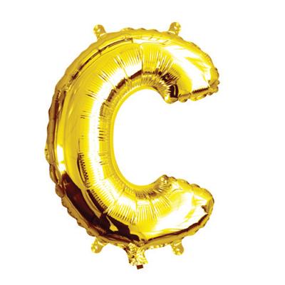 35cm 14 Inch Gold Foil Balloon C