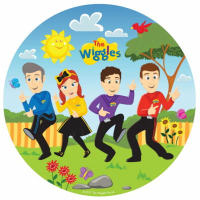 The Wiggles 23cm Round Plates 8PK