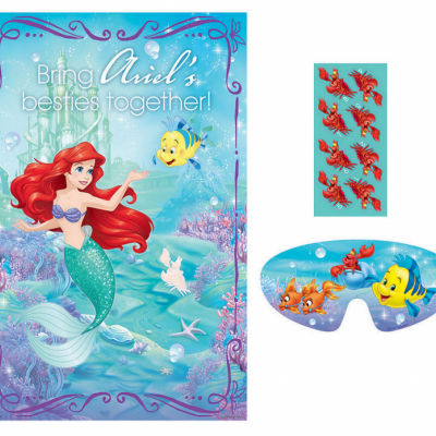 The Little Mermaid Ariel Dream Big Party Game