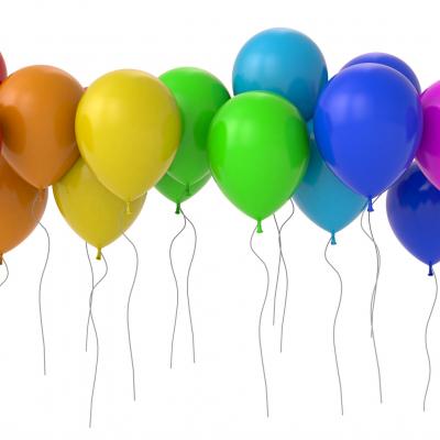 Loose 30cm Plain Colour Premium Latex Balloon with Helium