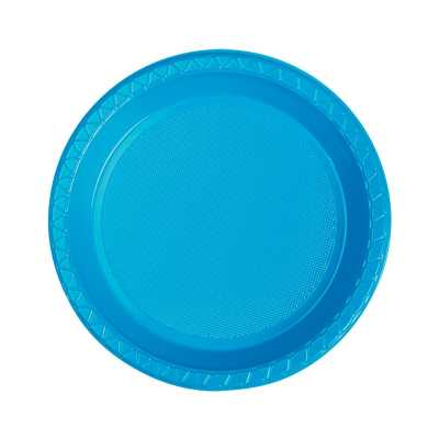Five Star Round Snack Plate 17cm Electric Blue 20PK