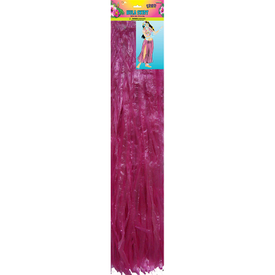 Luau Hula Skirt - Hot Pink