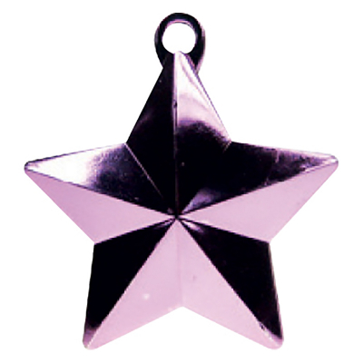 Balloon Weight Star Pastel Pink
