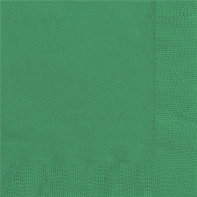Lunch Napkins Emerald Green 20PK