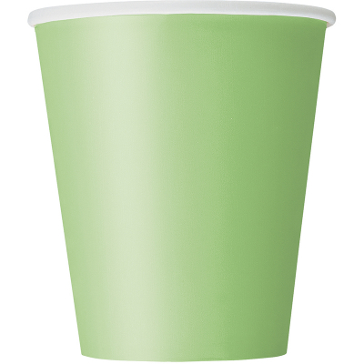 Paper Cups - Lime 8PK