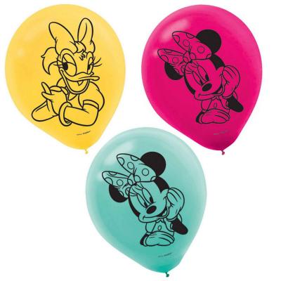 Minnie Mouse 30cm Latex Balloons 6PK