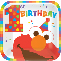 Elmo Turns One